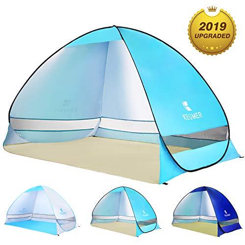 WloveTravel Tente de Plage Automatique d'extérieur, Cabine, Tente de Camping, abri de...