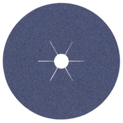 Klingspor 242803 Schleif - Fiberscheibe CS 565, 125X22 mm, 25 Stk. Korn: 40