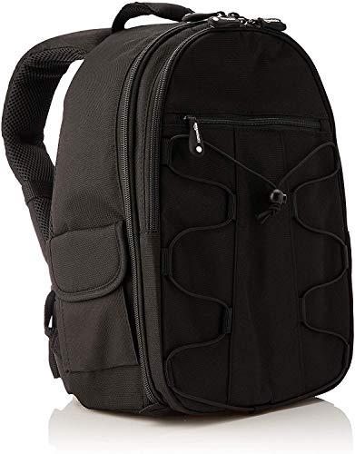 AmazonBasics Sac à dos pour Appareil Photo Reflex et accessoires Noir