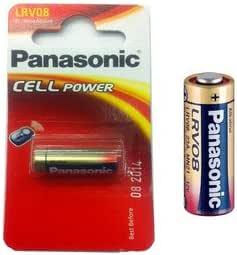 Panasonic Lrv08 Alkaline Battery Battery Alkaline Car Alarm Most 23ae Lrv08 23a Mn21 V23ga 33mah 12v 28 9 X 10 3 Mm Weight 6g Küche Haushalt