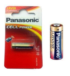Panasonic LRV08 Alkaline Batterie Alkaline car alarm (die meisten) 23AE / LRV08 23A. MN21.V23GA 33MAH 12V 28,9 x 10,3 mm, Gewicht: 6 g 12v Alarm Remote-alkaline-batterie