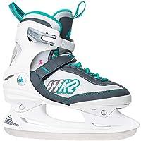 K2 Damen Fitness Schlitt-/Eishockey-/Eislaufschuhe Kinetic Ice W, weiß-grün, 2550801.1.1.
