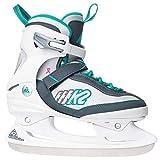 K2 Damen Fitness Schlitt-/Eishockey-/Eislaufschuhe Kinetic Ice W, weiß-grün, 40.5 EU (7 UK), 2550801.1.1.095