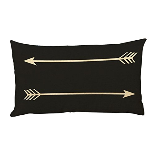 Xinan Arrow Drucken Sofa Bett Home Dekoration Festival Kissenbezug (30cm*50cm, - Halloween-dekoration Ikea