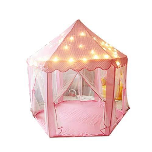 ädchen Prinzessin Schloss Zelt Kinder Indoor-Spiele Spielhaus Spielzeug Zelt ()