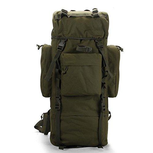 Mefly Outdoor Zaino Tattico Impermeabile Uomini Oxford Tessuto Camouflage Zaino Verde Militare Army green