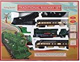 Best Train Sets - Traditional Railway Train Set - Battery Powered. Complete Review