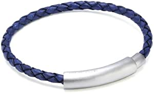 Police Close Leather and Stainless Steel Bracelet 200mm