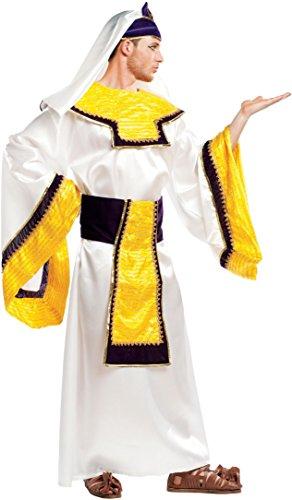 COSTUME di CARNEVALE da FARAONE vestito per Uomo adulti travestimento veneziano halloween cosplay festa party 5117 Taglia M