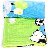 GoodStart AC Baby Blanket In Cartoon Print - Blue