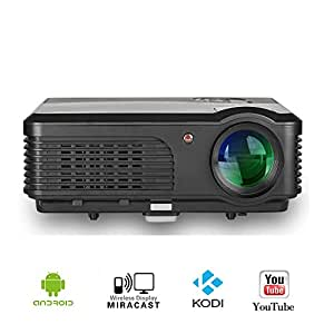 Wifi projector for iphone mac android caiwei wireless lcd for Apple wireless projector