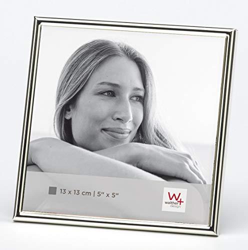 walther design WD313S Chloe Portraitrahmen 13 x 13 cm, silber