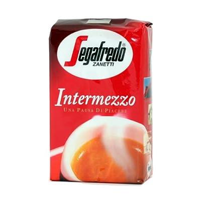 Segafredo Intermezzo Ground Coffee (12 Packs of 250g) by Zanetti
