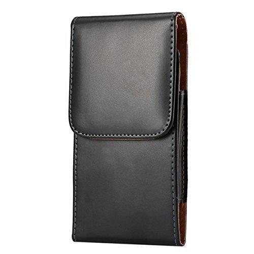 eBuymore TM Premium PU Leder Vertikal Holster Schutzhülle mit Gürtelclip für iPhone 7/6S/Samsung Galaxy S7/S6/LG K7/LG K3/LG Escape 3/Blu R1HD/Blu Studio G2/X5