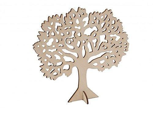 ... ZauberDeko Baum Des Lebens Lebensbaum Holz Natur Kommunion Konfirmation Tischdeko  Deko