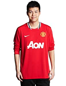 """Manchester United Home Shirt 2011/12 - Long Sleeved - S 34""""/36"""" Chest (88/96cm)"""