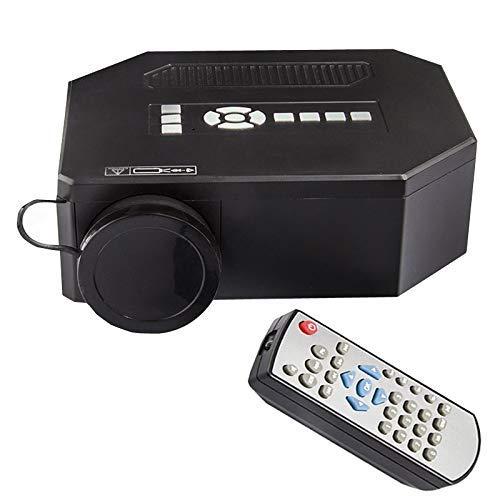 r, UC30 Home HD-Mikroprojektor 1080P tragbarer 3D-Apple-Projektor (weiß),Black ()