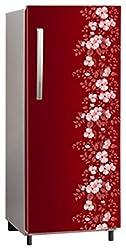 Panasonic Direct Cool 202 L Single Door Refrigerator (NR-AC20STX1, Maroon)
