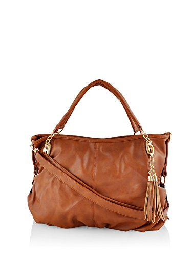 Mark & Keith Women Brown Handbag ( MBG 035 LBN )