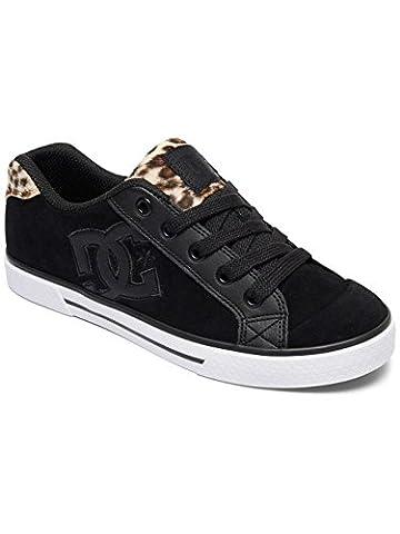 DC Shoes Chelsea Se, Sneakers Basses Femme, Noir (Animal), 38 EU