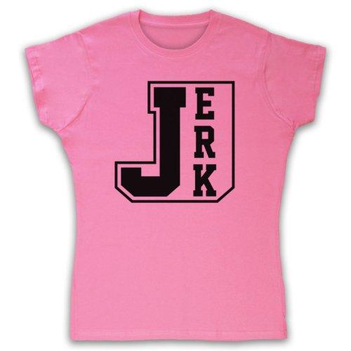 Jerk Hipster Damen T-Shirt Rosa