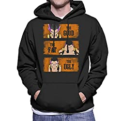 5fa04f3879b5 Cloud City 7 Dragon Ball Z The Good The Fat and The Ugly Men s Hooded  Sweatshirt