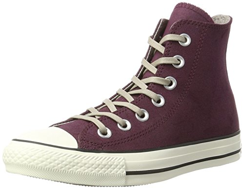 Converse Unisex Adults' Chuck Taylor All Star Hi-Top Slippers red Size: 9...