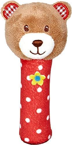 Baby & & & Glück Spiegelburg Jouets Petite Enfance Peluche Teddy Ours Squeaker Rouge | En Ligne  a0d531