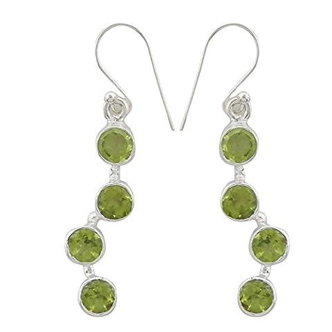 Banithani 925 Pure Silver Dangle Earrings Party Wear New Indian Fashion Jewellery
