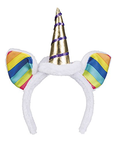 Boland 04249 Tiara Rainbow Unicorn, womens, One Size