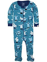 Hatley Footed Coverall-Ski Monsters, Polaina Para Bebés