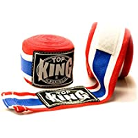 TOP KING TKHWR-01 Pro Hand Wraps Protector Bandages Cotton for Muay Thai Boxing
