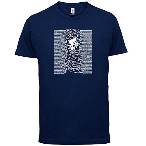 Unknown Pleasures Of Cycling - Herren T-Shirt - 13 Farben Navy