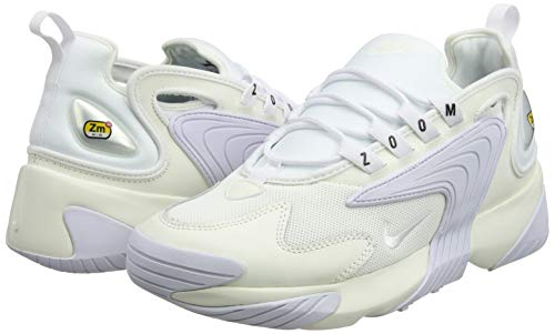 Nike Zoom 2K, Scarpe da Running Uomo, Multicolore (Sail/White/Black 100), 42 EU Img 4 Zoom