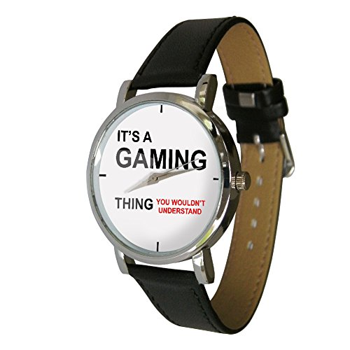 its-a-gaming-thing-wristwatch-humour-gift-watch-gamers-gift-geek-gift