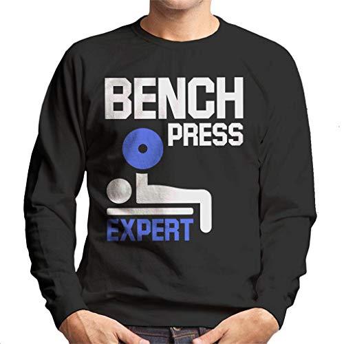 Bench Press Expert Men's Sweatshirt