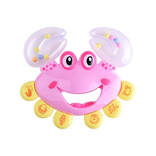 Fluffy Slime Clode® Hot Lustige Baby Kleinkind Rassel Geschenk Krabben Modell Hand Glocken 2018 Niedlichen Bildung Spielzeug (Modelle Hot Niedlichen)