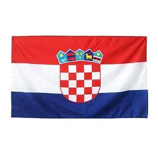 Länder Fahne 90 x 150 cm Abasonic® (Kroatien)