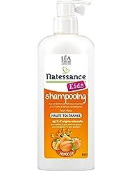 Natessance Kids Shampooing Haute Tolérance Abricot sans Sulfates 500 ml