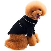 PerGrate Ropa para perro, lindo gato cachorro de algodón para dormir camiseta abrigo disfraz pijama