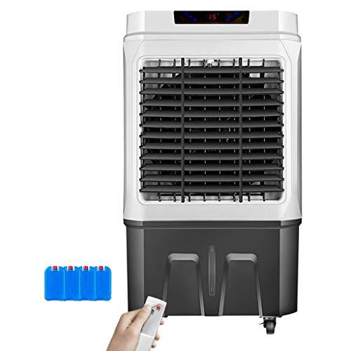 YWARX Mobiles Klimagerät 4in1   Fernbedienung 45 L Tank Timer   Räume bis 6000m³/h   Kühlen + Entfeuchten, Energieeffizienzklasse A 150W