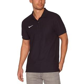 Nike Herren Poloshirt TS Core, black/white, Gr, S, 454800-010