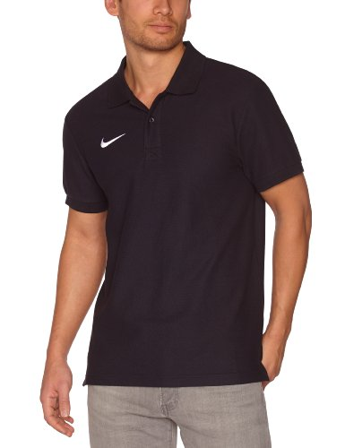 Nike Herren Poloshirt TS Core, black/white, Gr, L, 454800-010