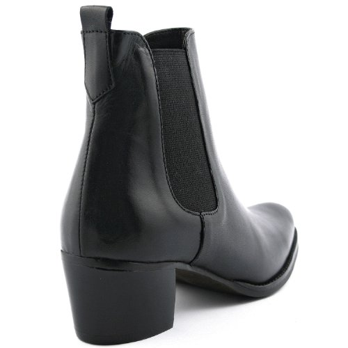 Exclusif Paris Exclusif Paris Misty, Chaussures femme Bottines femme, Damen Stiefel & Stiefeletten Schwarz