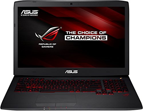 Asus G751JY-T7009H 43,9 cm (17,3 Zoll Full HD) Laptop (Intel Core i7 4710HQ, 2,5GHz, 24GB RAM, 256GB SSD + 1TB HDD, GeForce GTX 980M(4GB), Bluray, Win 8.1, non Glare IPS Display) schwarz 24 Gb Ssd