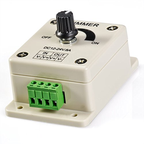 Dimmer für LED, 8 Ampere