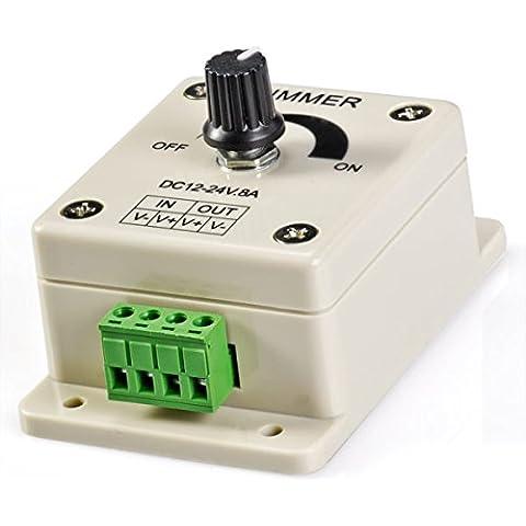 Dimmer o regulador de intensidad para led de 8A 8 Amperios
