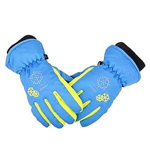 TRIWONDER Thermal Fleece Skihandschuhe Snowboard Handschuhe Warme Winterhandschuhe für Kinder