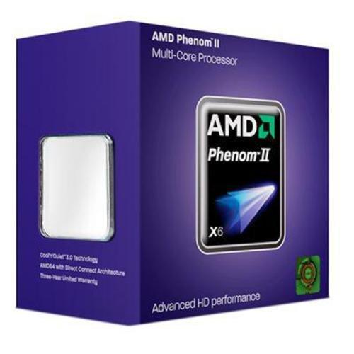 AMD Sockel AM3 Phenom II X6 1075T Box Prozessor (3000MHz, L2/L3-Cache) (Phenom 2 X6)