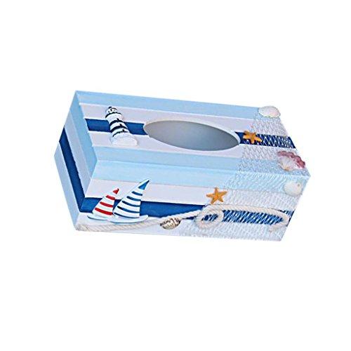 Maritim Tücherboxen Kosmetikbox Kosmetiktuch Taschentuchbox Kosmetik Tücherbox Box Wohnzimmer Deko